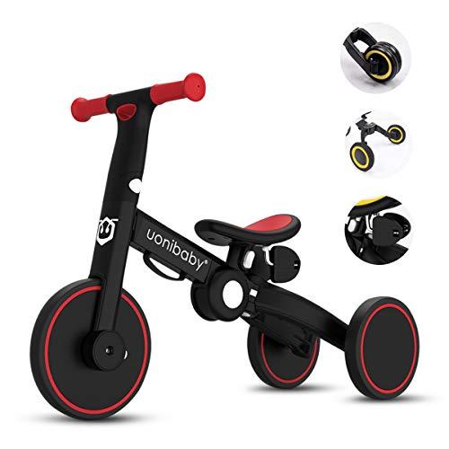 Bicicleta de equilibrio OLYSPM 4 en 1 para niños, bicicleta ...