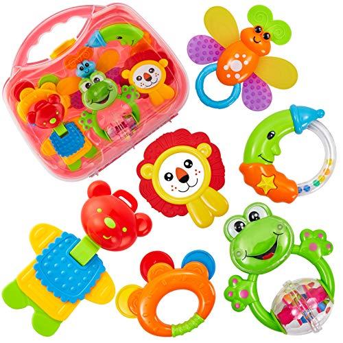 Sonajero HERSITY, juguetes para bebés de 3 a 6 meses