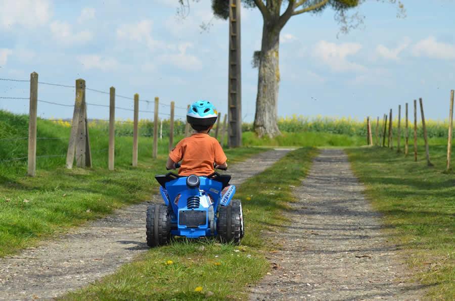 mejor quad electrico para niños