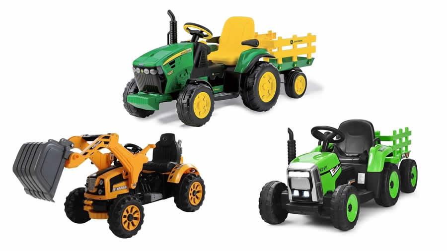 mejor tractor eléctrico niños