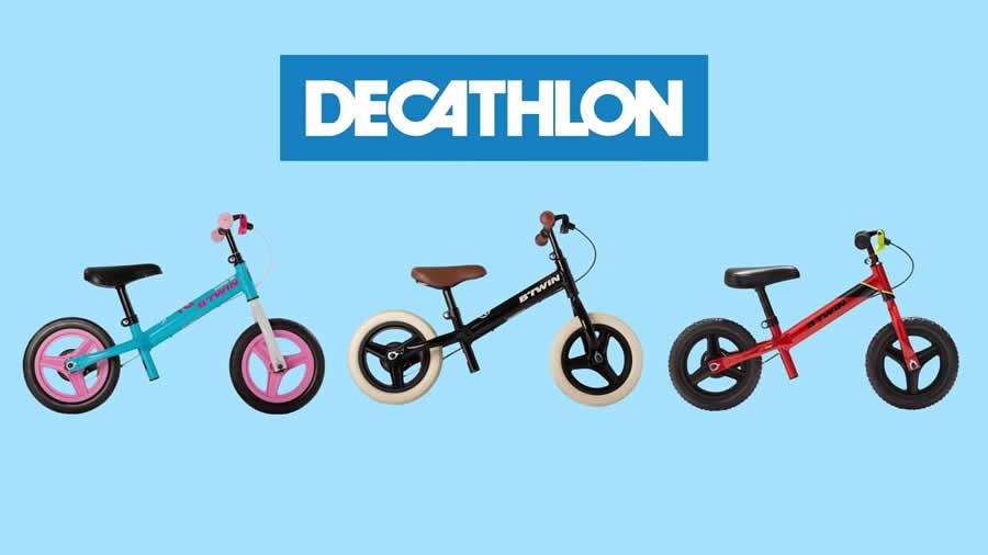 bicicletas decatlon sin pedales