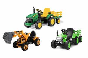 mejores tractor electricos para niños