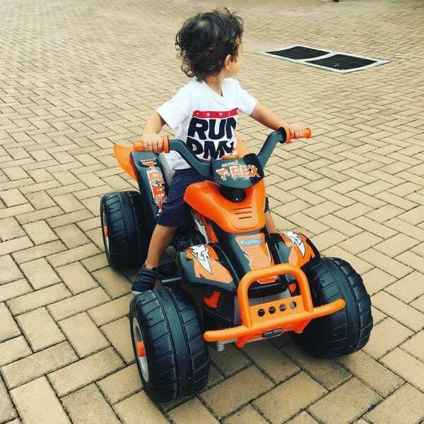 quad electrico para niños