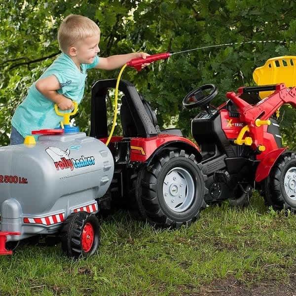 tractor electrico niños